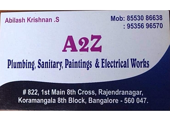 A2Z Plumbing, Sanitary, Painting & Electrical Works