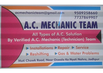 AC Mechanic Team