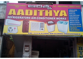 Aadithya Refrigeration Air Conditioner Works