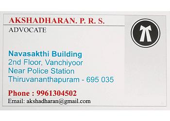 Adv Akshadharan P R S