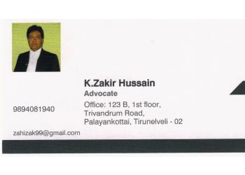 Advocate K. ZAKIR HUSSAIN - ZK Associates