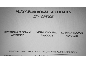 Advocate Kushal Vijayakumar Bolmal - Vijaykumar Bolmal Associates