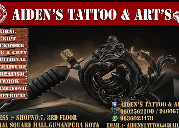 Aiden's Tattoo and Arts