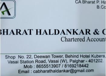 CA BHARAT HALDANKAR & CO. Chartered Accountants