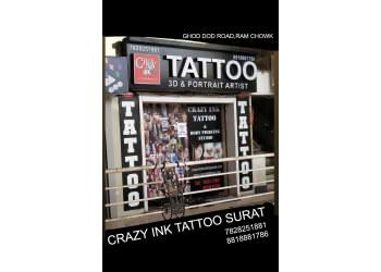 CRAZY INK TATTOO & BODY PIERCING STUDIO