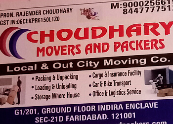 Choudhary Movers and Packers