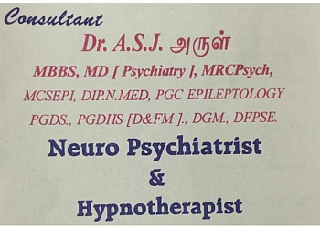 Dr. A S J Arul, MBBS, MD, MRCPsych
