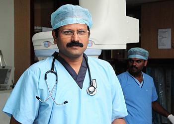 Dr. K R Santhosh, MBBS, MD, DNB, DM, FSCAI, FESC
