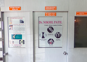 Dr. Nikhil Patil, DNB (ortho), D.Ortho
