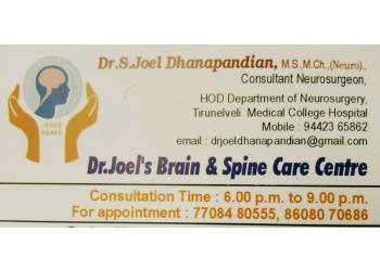 Dr. S. Joel Dhanapandian, MBBS, MCh
