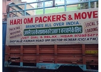 HARIOM MOVERS AND PACKERS
