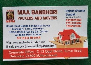 Maa Banbhori Packers and Movers