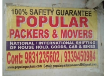 Popular Packers & Movers