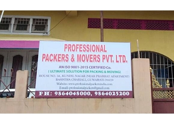 Professional Packers Movers Pvt. Ltd.