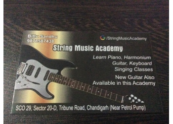 String Music, Guitar , Piano classes