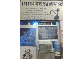 Tattoo's studio and ghost smoke