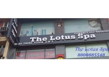 The lotus spa